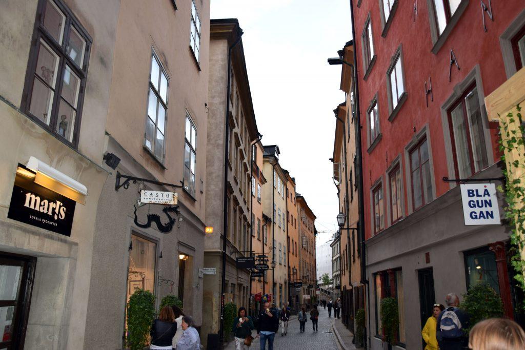 Abendspaziergang Stockholm