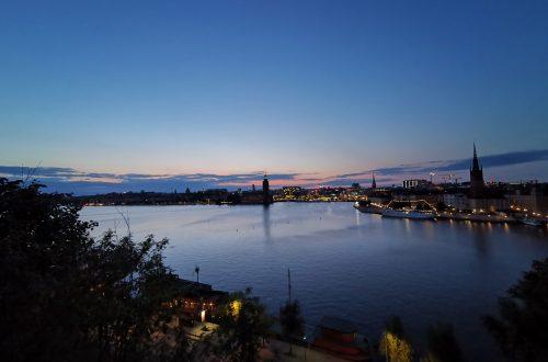Ausblick über Stockholm