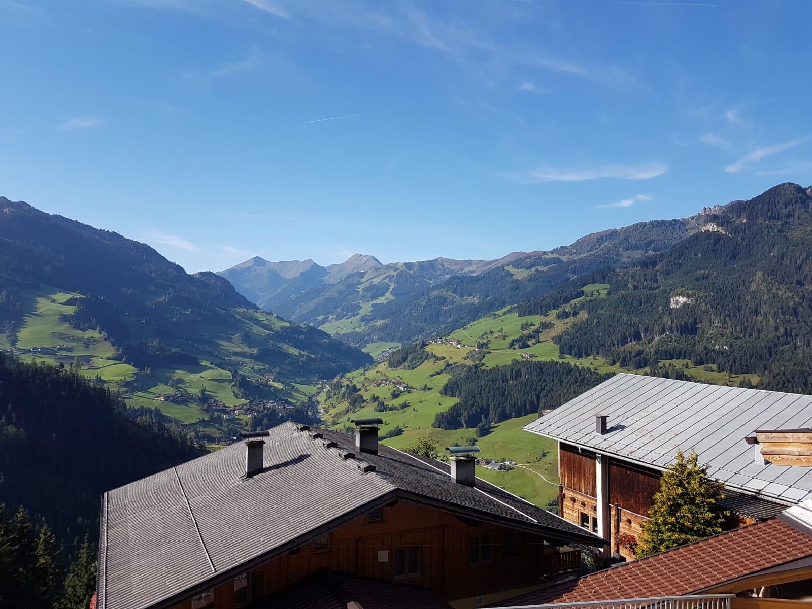 Ausblick Schlickhütte