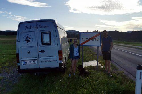 Start unserer Europareise mit Hund