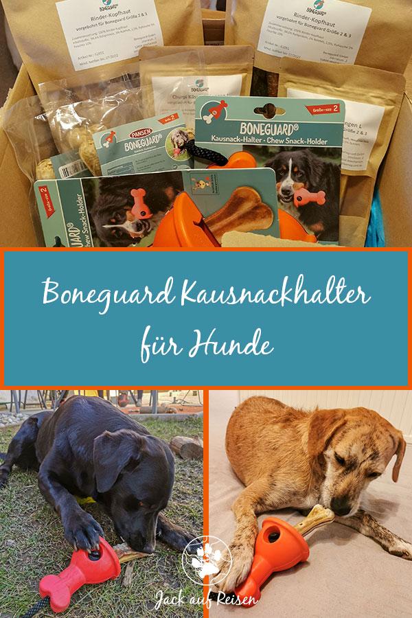 Boneguard Kausnackhalter für Hunde Pin