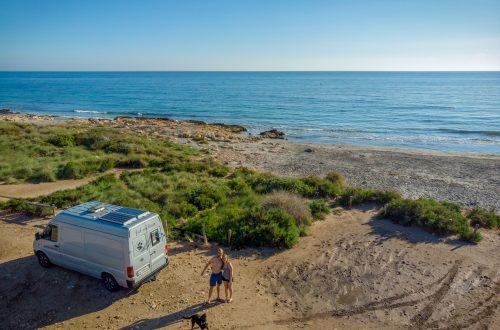 Camping in Spanien mit Hund