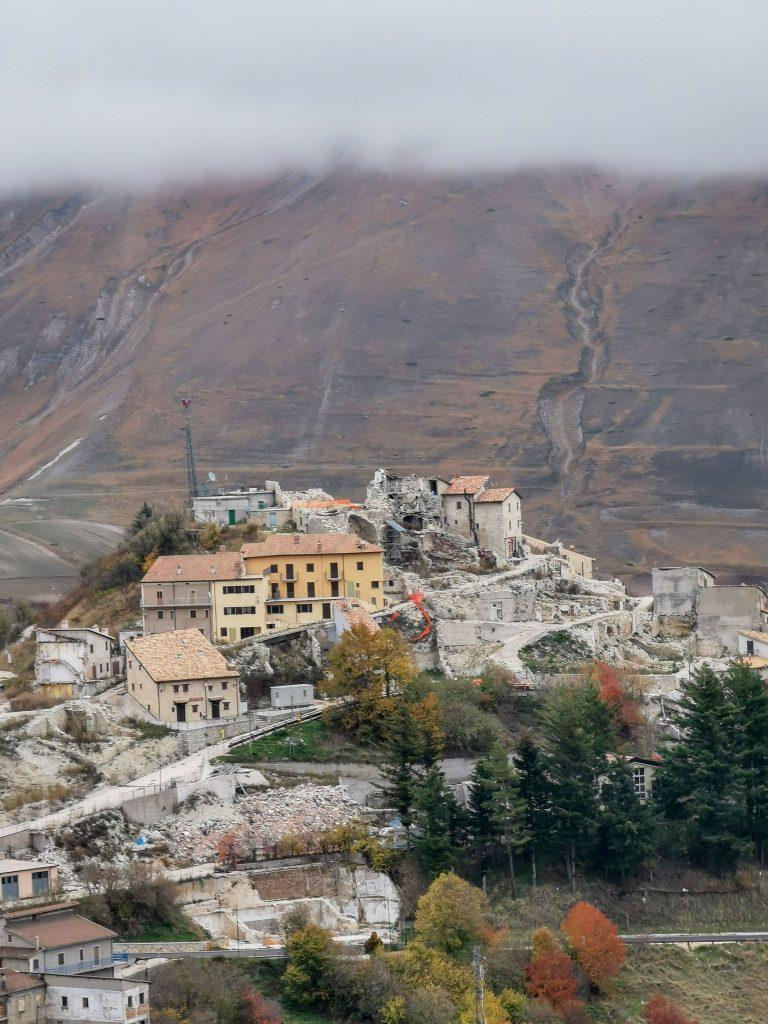 Castelluccio Erdbeben