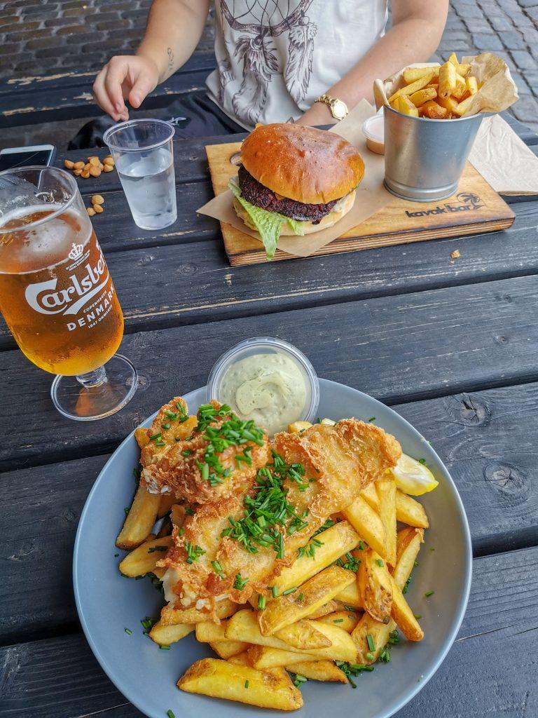 Europareise Kosten Essen gehen