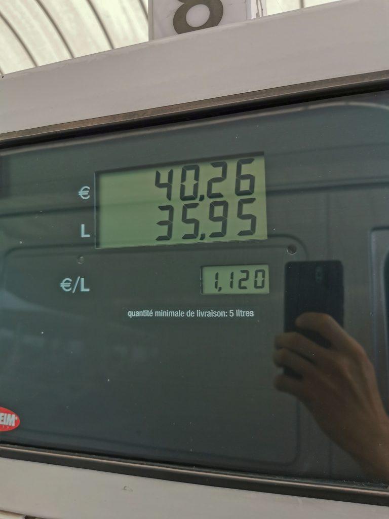 Europareise Kosten Tanken