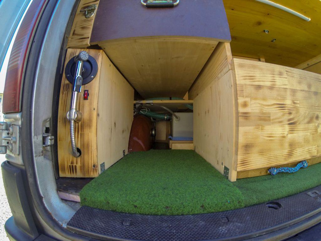 Frischwassertank Campingbus