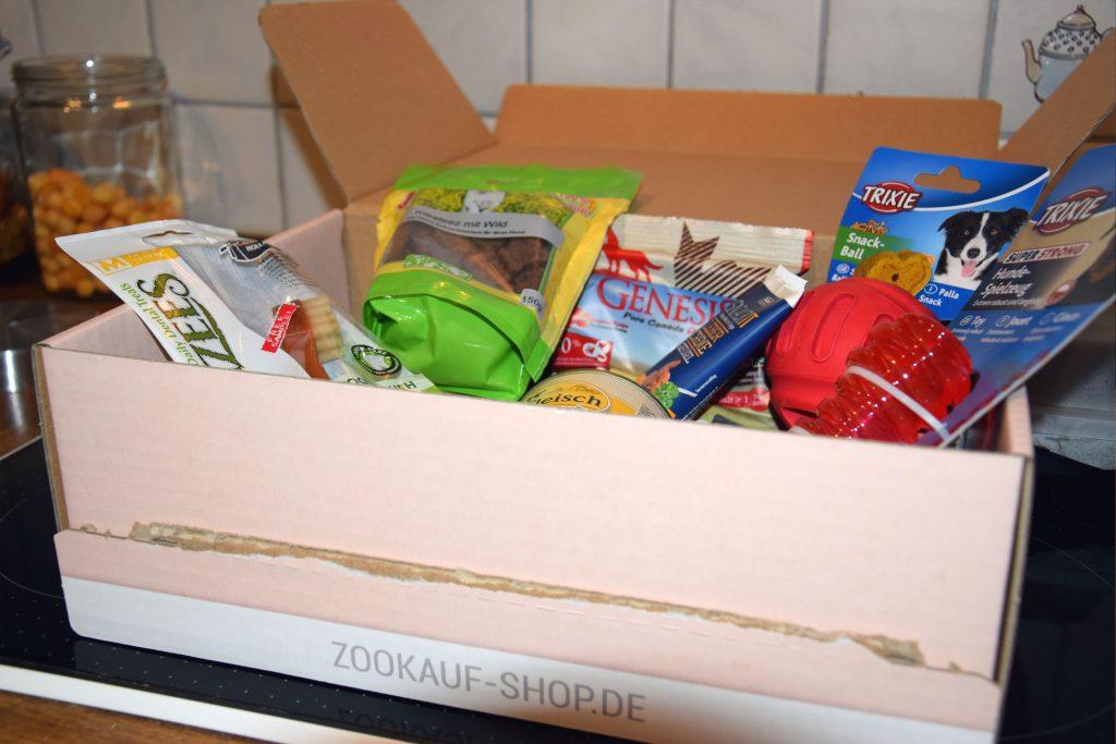 GoodieBox zookauf-Shop Inhalt