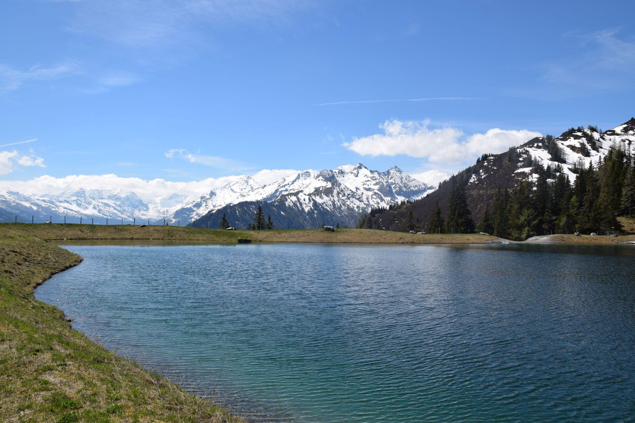 Hochalm Bergsee Ausblick