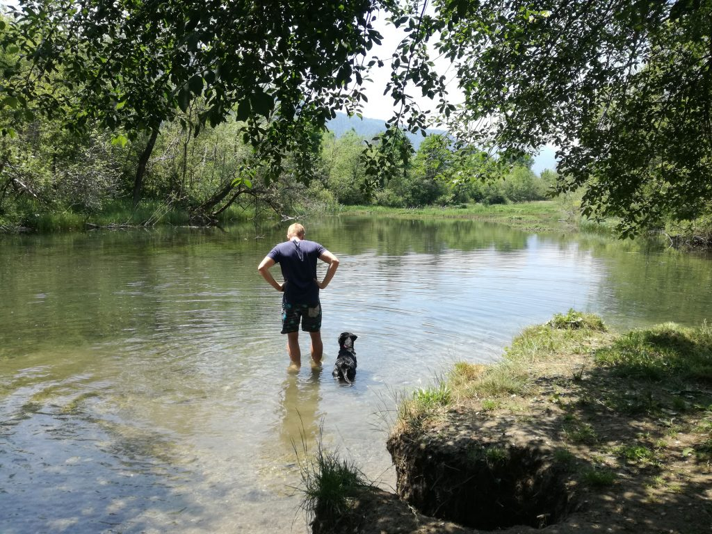 Hundebadestelle Camping Rosental Roz
