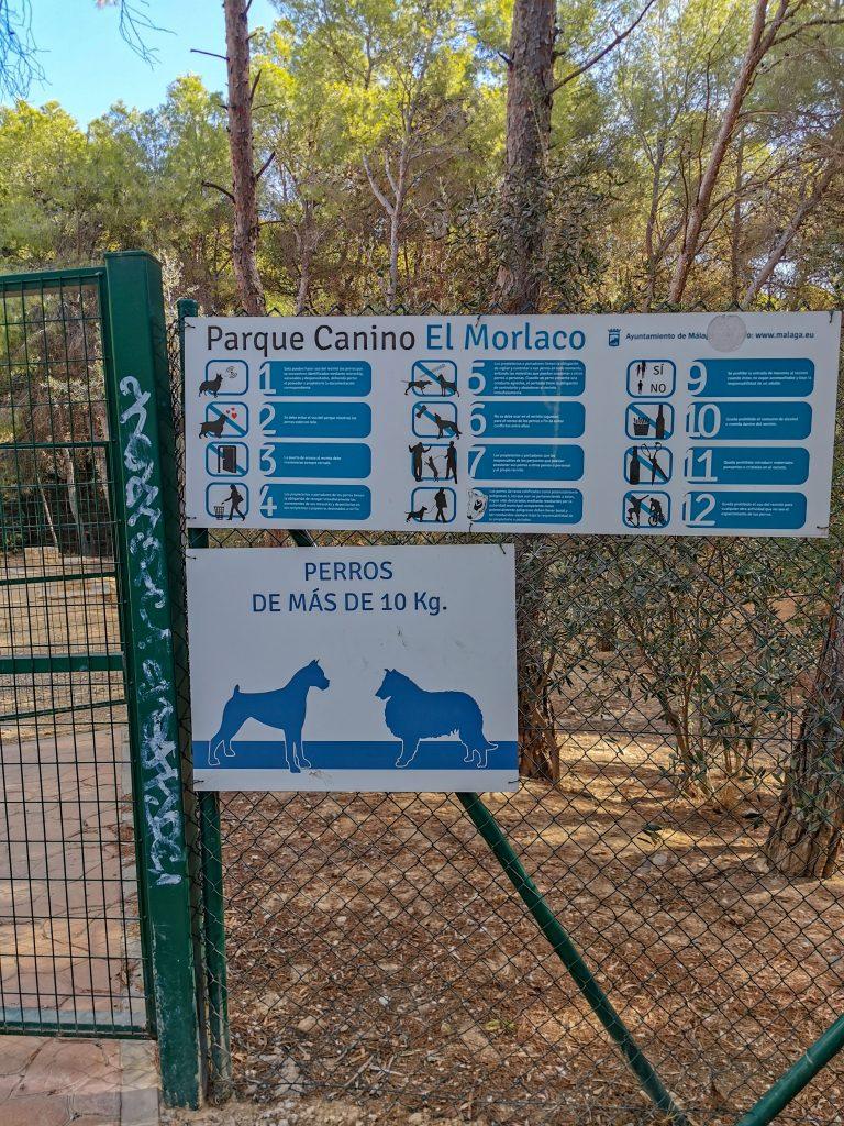 Hundepark in Malaga