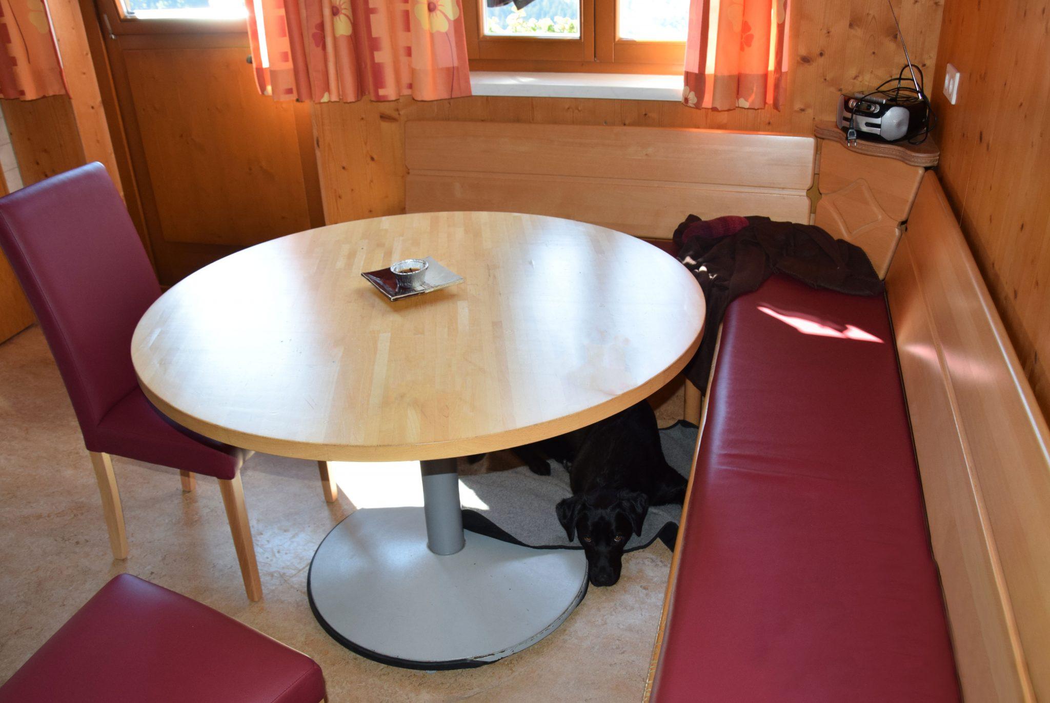 Küche in der Schlickhütte