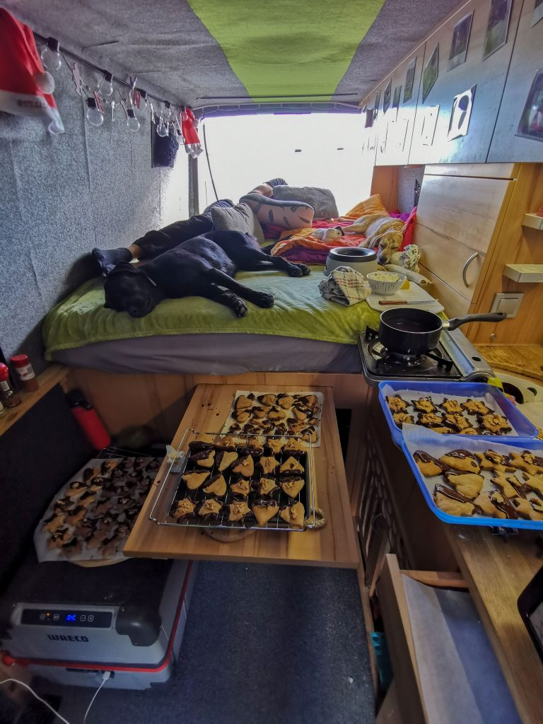 Kekse backen im Van