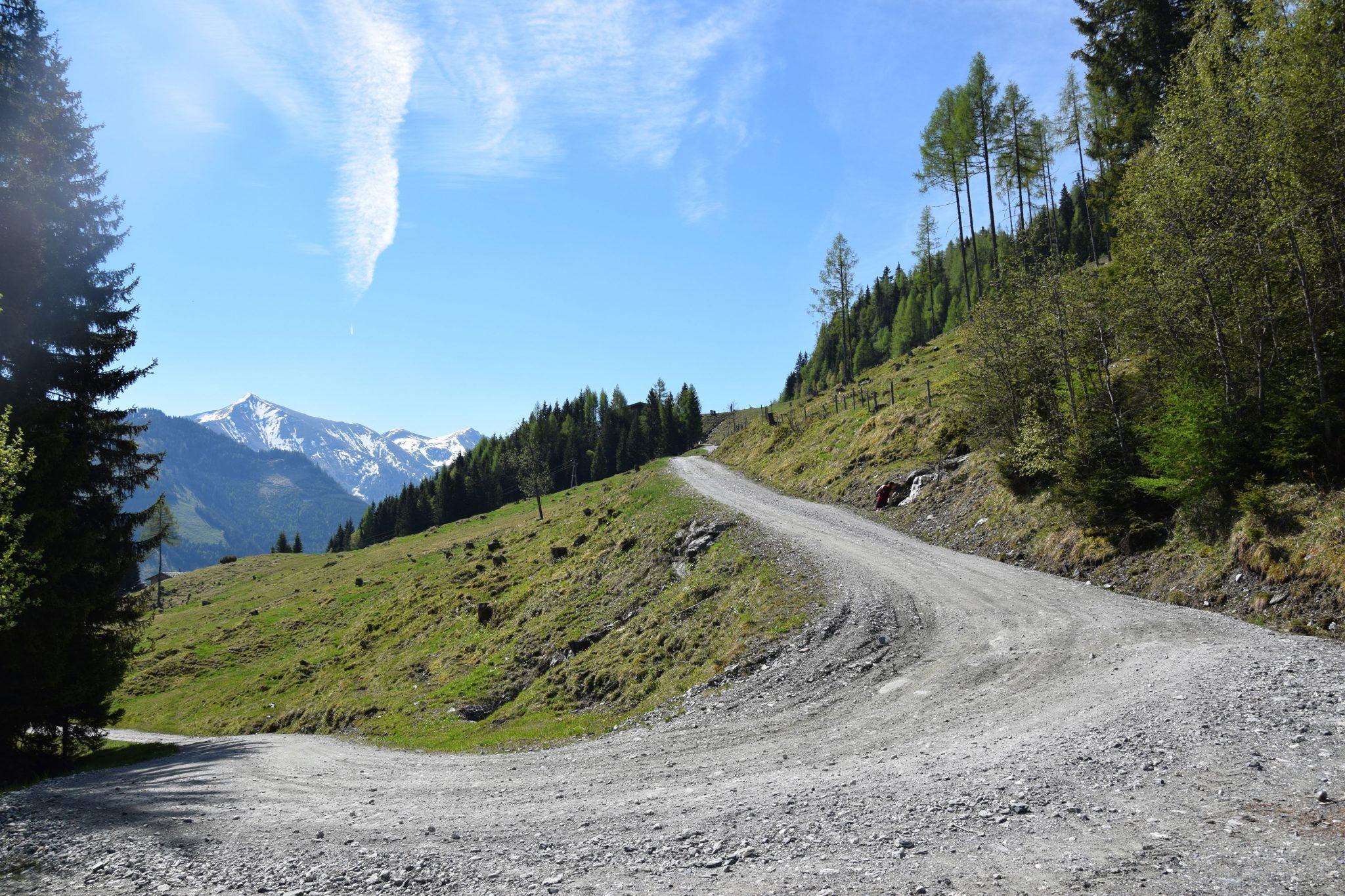 Landschaft Wanderung Rauris