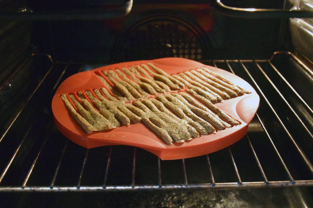 Leckerliestangen im Ofen
