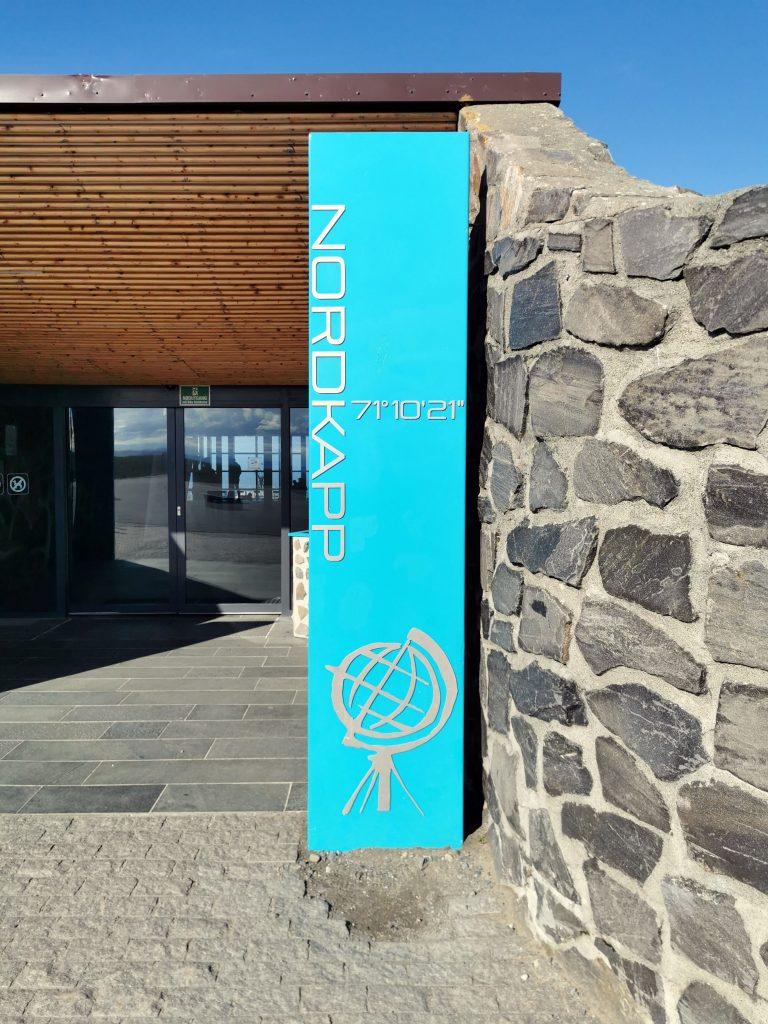 Nordkap Eingang