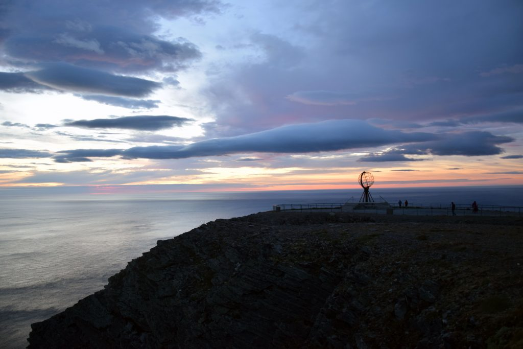 Nordkap am Abend