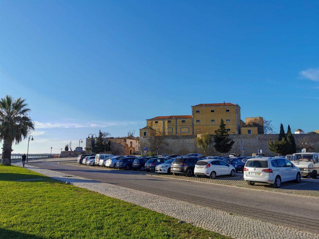 Parkplatz Besuch in Faro