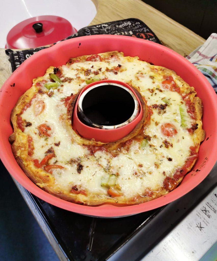 Pizza aus dem Omnia