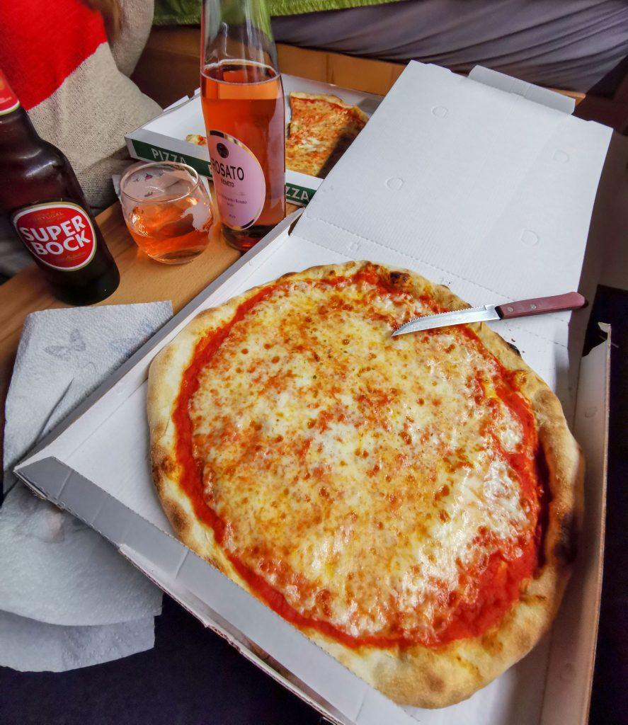 Pizza in Italien