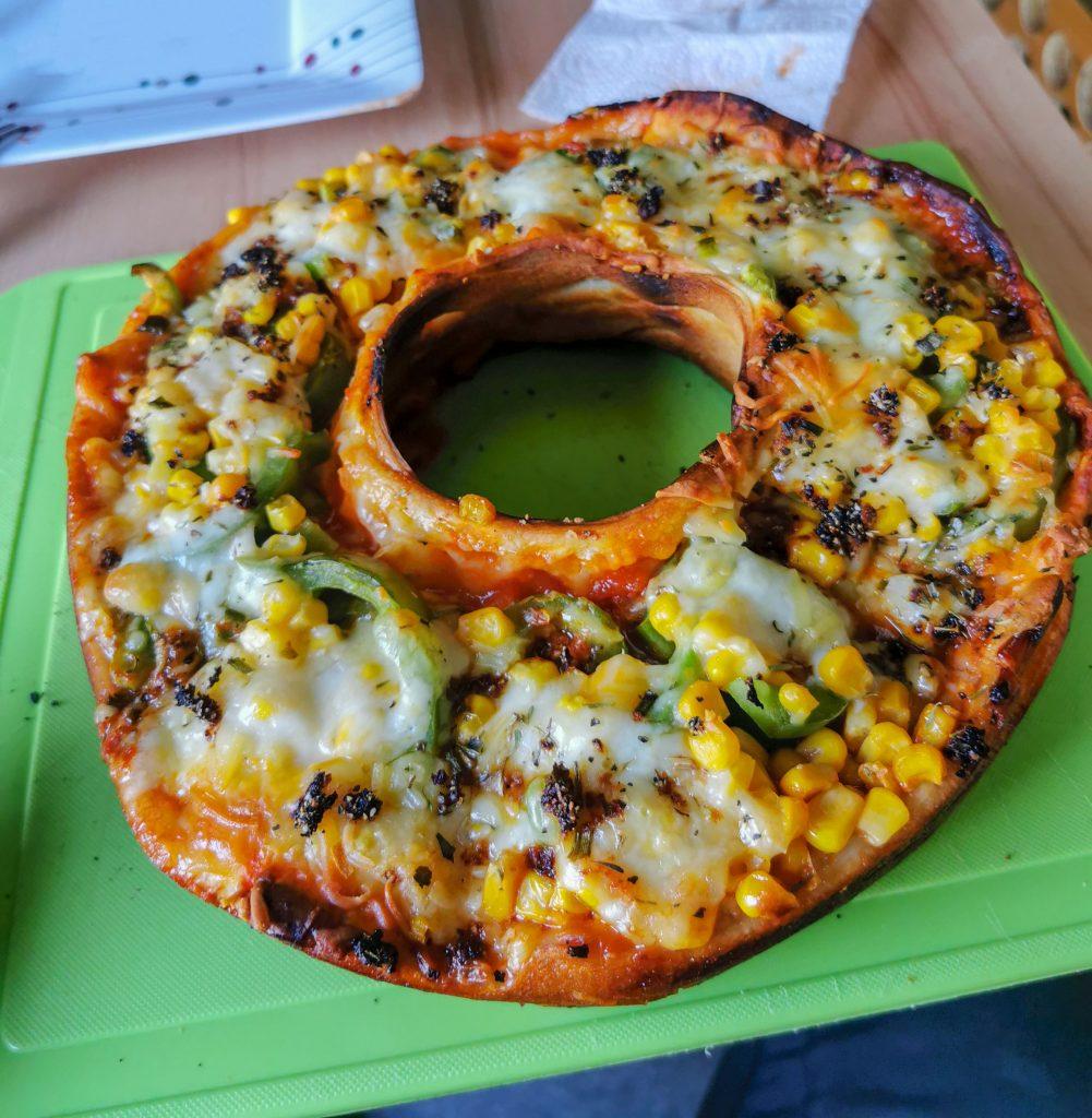 Pizza kochen im Wohnmobil