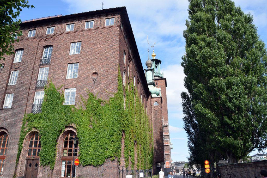 Rathaus in Stockholm