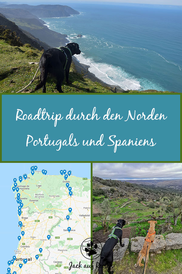Roadtrip Portugal Spanien Pin