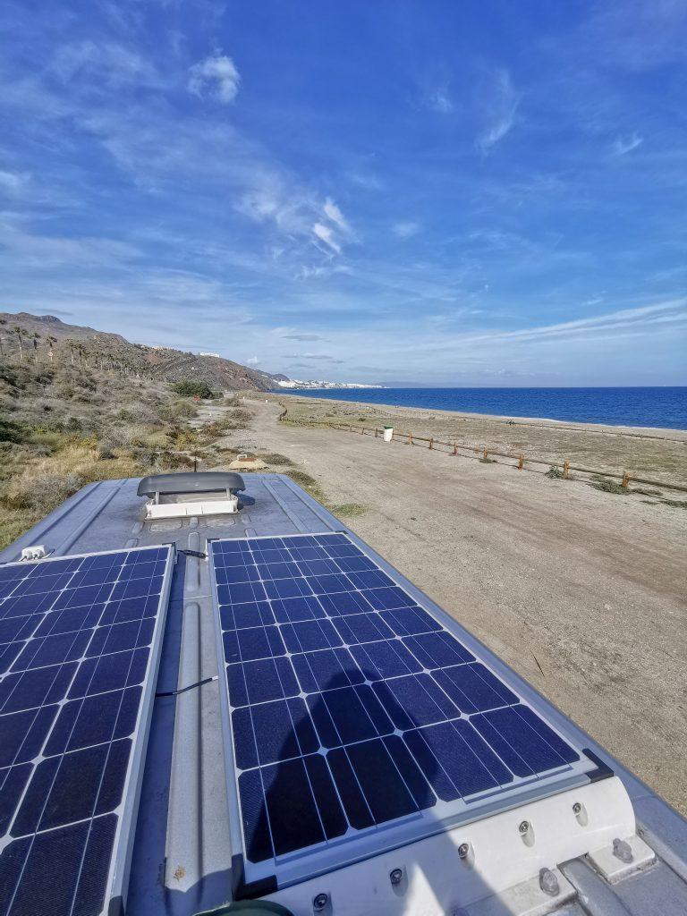 Solaranlage Campingbus