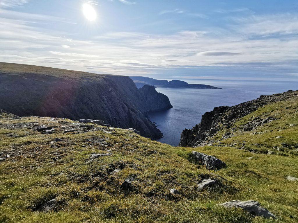 Spaziergang Nordkap Ausblick