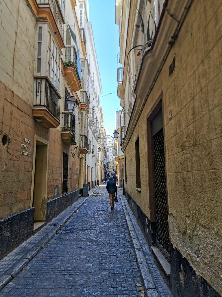Spaziergang in Cadiz