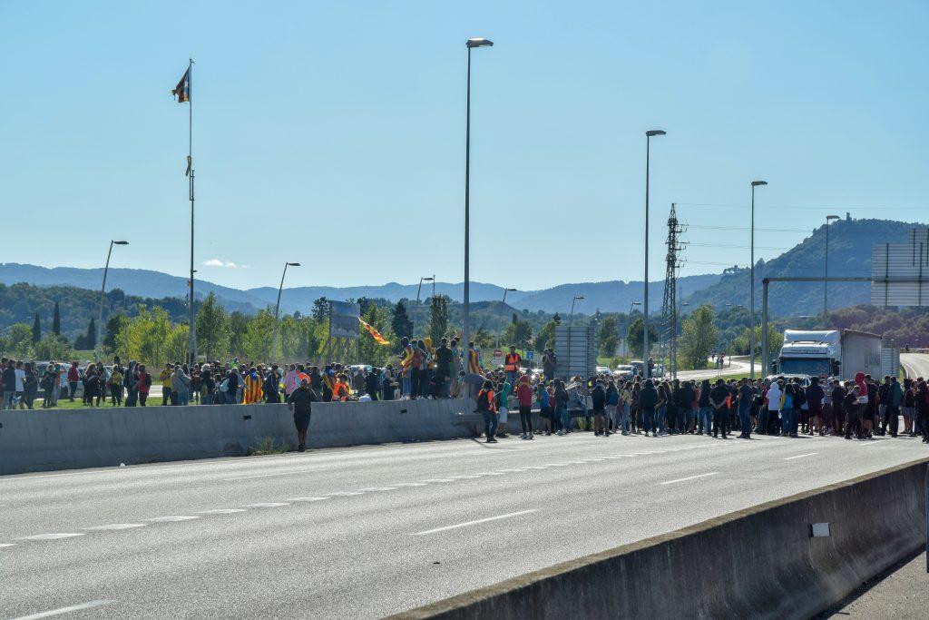 Streik in Katalonien