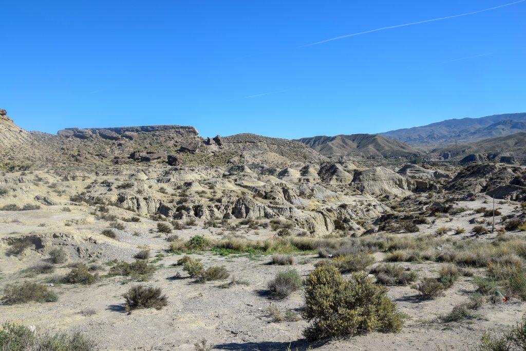 Tabernas Wüste in Spanien