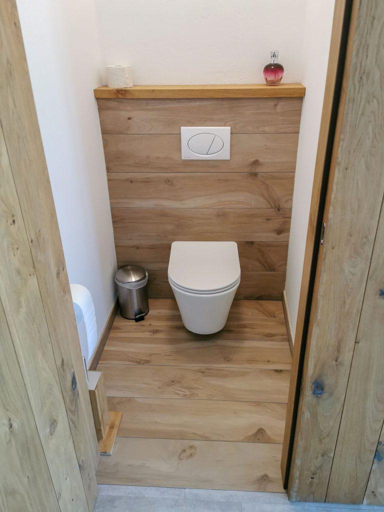 WC im Chalet