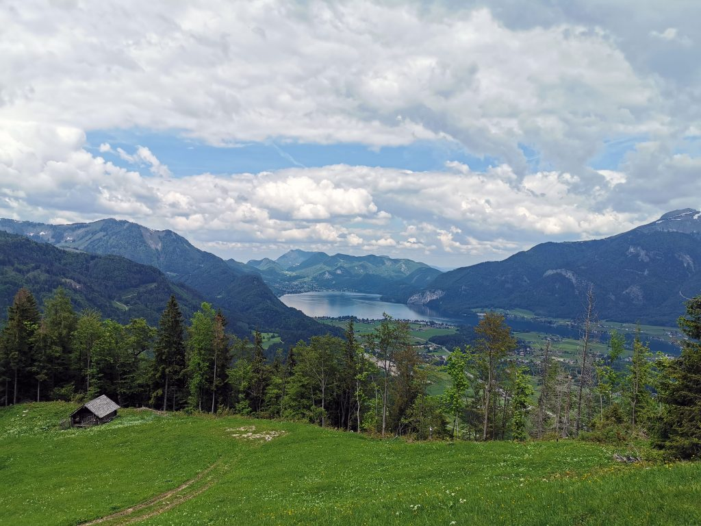 Wanderung am Wolfgangsee