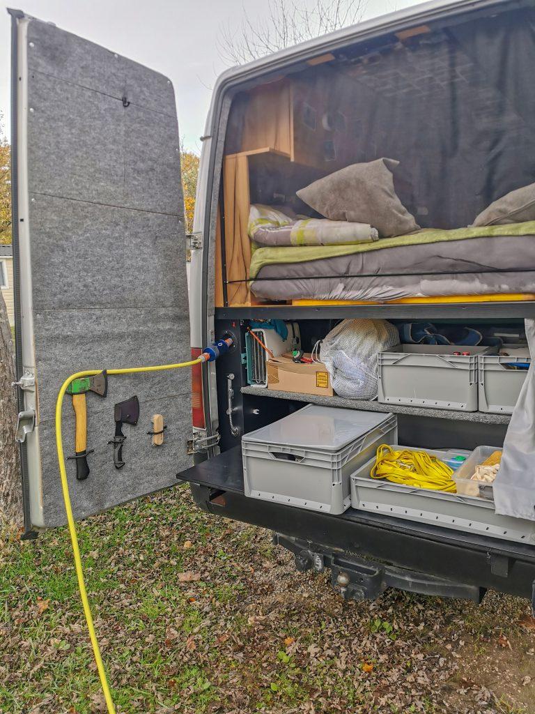 Wasserfilter im Van