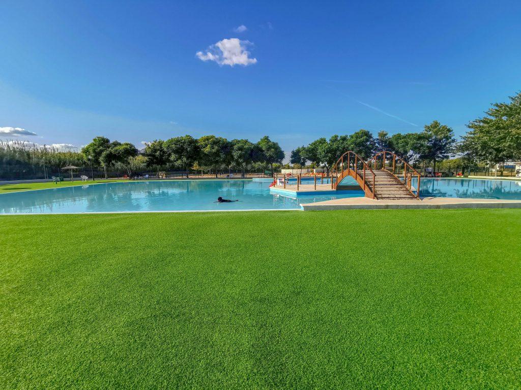 Wasserpark für Hunde in Spanien