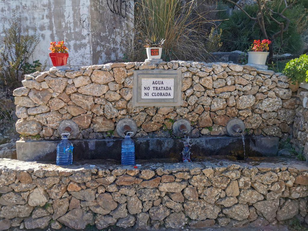 Wasserquelle Spanien
