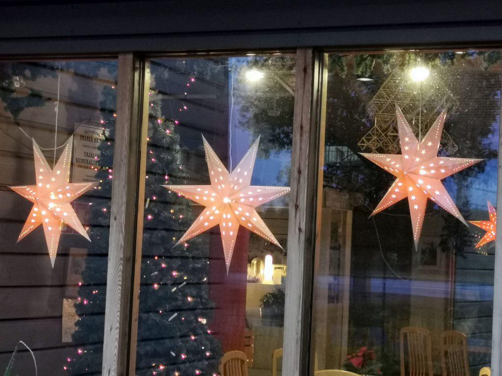 Weihnachtsmanndorf Dekoration