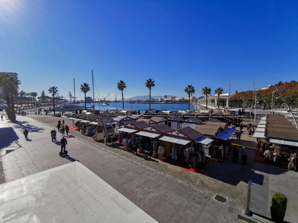 Weihnachtsmarkt in Malaga