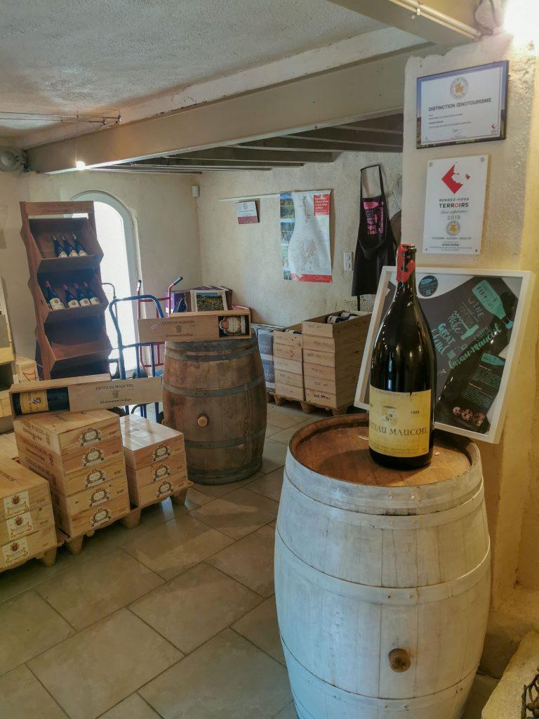 Weinbauer in Frankreich