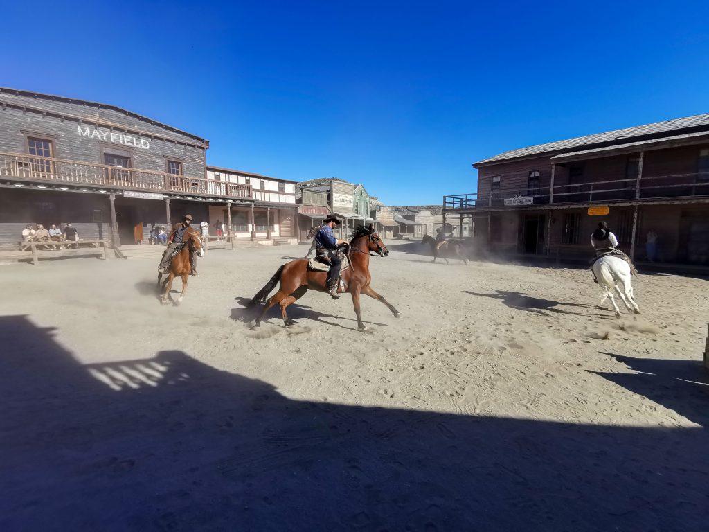 Westernshow in Spanien