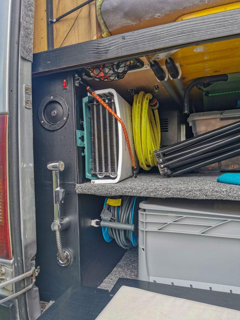 mobiler Gas Durchlauferhitzer