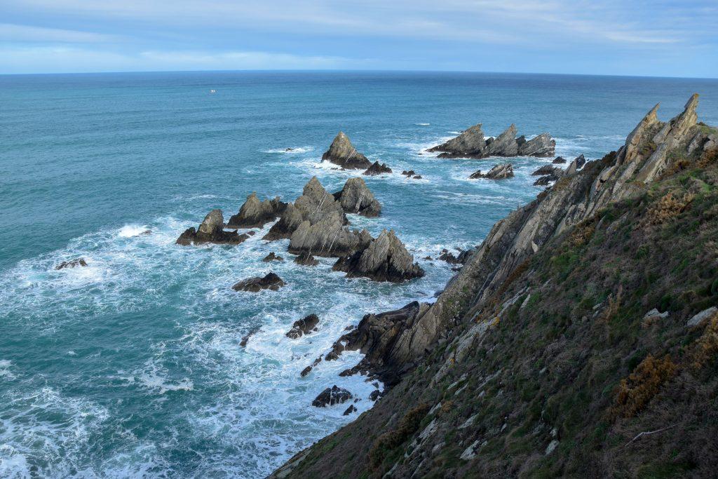 spanische Küste Galicien